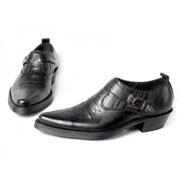 Туфли казаки Texas 201002 с острым носом 71e74436012