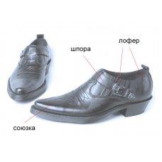 Туфли мужские Texas 201002 на заказ