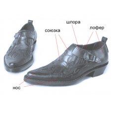 Туфли мужские Texas 201003 на заказ