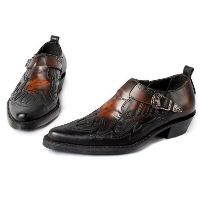 Мужские туфли казаки Texas 201003 brush-off