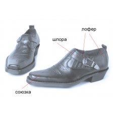 Туфли мужские West 202002 на заказ