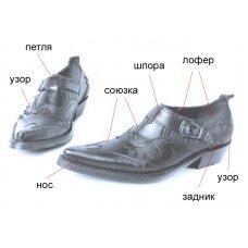 Туфли мужские Texas New 211005 на заказ