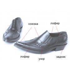 Туфли мужские Texas New 211006 на заказ