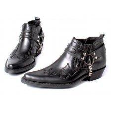 Ботинки мужские Texas 301005 black