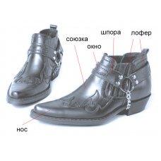 Ботинки мужские Texas 301005 на заказ