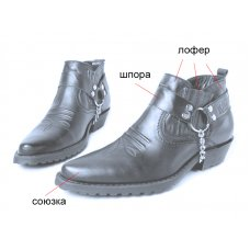 Ботинки мужские зимние Texas 301100 на заказ