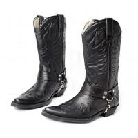 Сапоги мужские Texas 501002 black