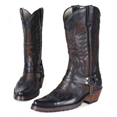 Мужские ковбойские сапоги Texas 501002S brush-off