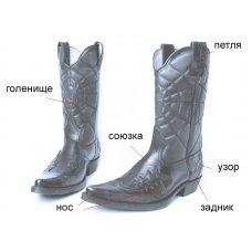 Сапоги мужские Texas New 511005 на заказ