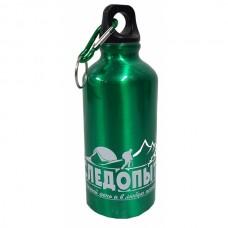 Бутылка питьевая алюминиевая 400 мл. с карабином