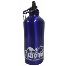 Бутылка питьевая алюминиевая 600 мл. с карабином