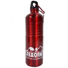 Бутылка питьевая алюминиевая 750 мл. с карабином