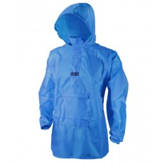 Мембранная непромокаемая ветровка Дождь М синяя
