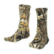 Флисовые носки удлиненные
