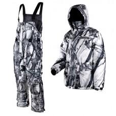 Зимний охотничий костюм Универсал белый КМФ
